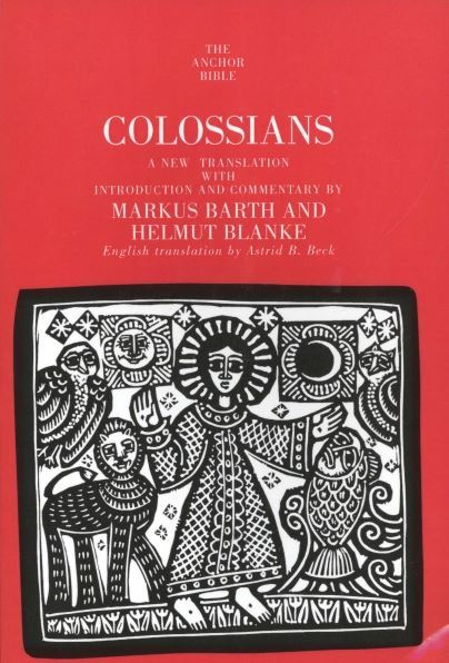 Anchor Yale Bible Commentary: Colossians (AYB)