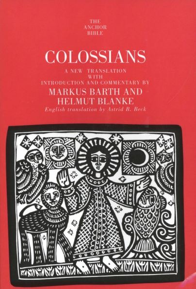 Colossians: Anchor Yale Bible Commentary (AYB)