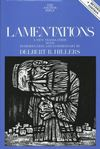 Anchor Yale Bible Commentary: Lamentations (AYB)