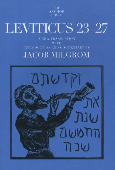 Anchor Yale Bible Commentary: Leviticus 23-27