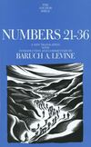 Anchor Yale Bible Commentary: Numbers 21-36 (AYB)