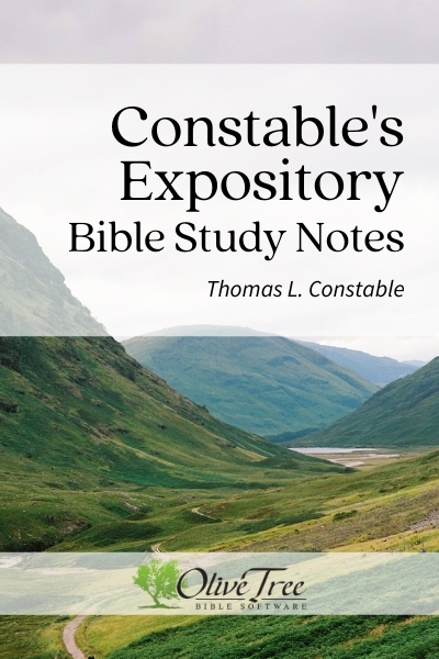 The Expository Notes of Dr. Thomas Constable, 2014 edition