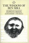 Wisdom of Ben Sira: Anchor Yale Bible Commentary (AYB)
