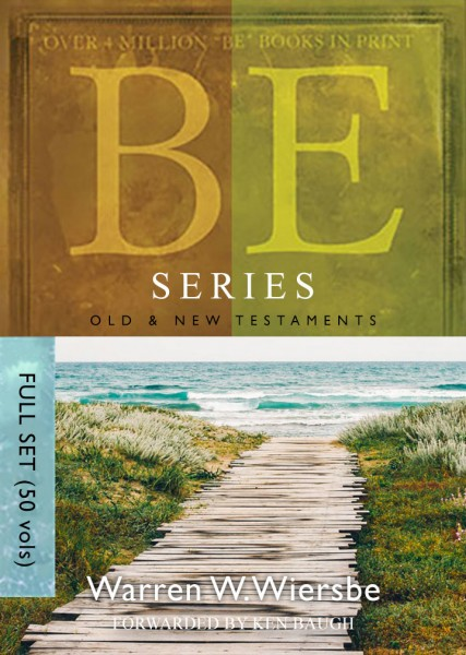 BE Series Commentary by Wiersbe (50 Vols.)