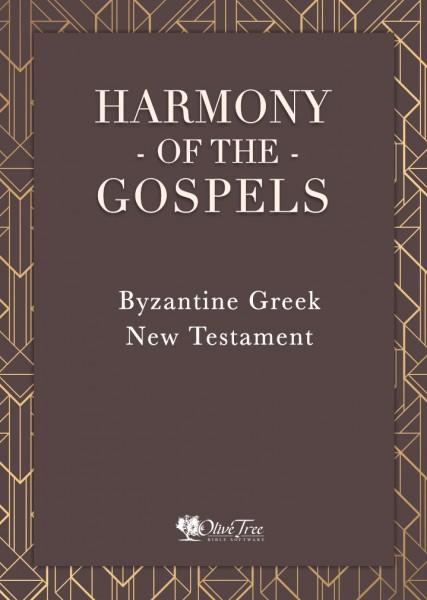 Harmony of the Gospels - Byzantine Greek New Testament