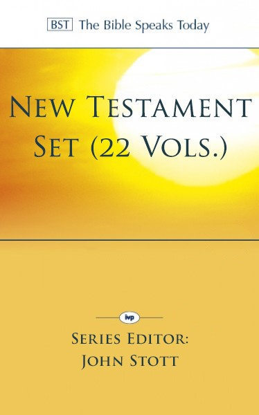 The Bible Speaks Today: New Testament Series (22 Vols.)