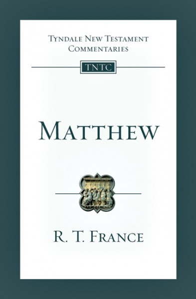 Tyndale New Testament Commentaries: Matthew Vol 1