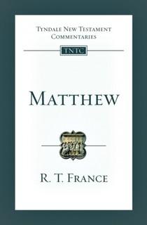 Tyndale New Testament Commentaries: Matthew Vol 1