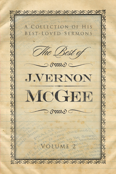 Best of J. Vernon McGee