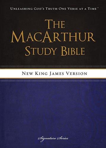 MacArthur Study Bible with NKJV