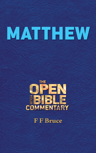 Matthew (Open Your Bible Commentary Series)