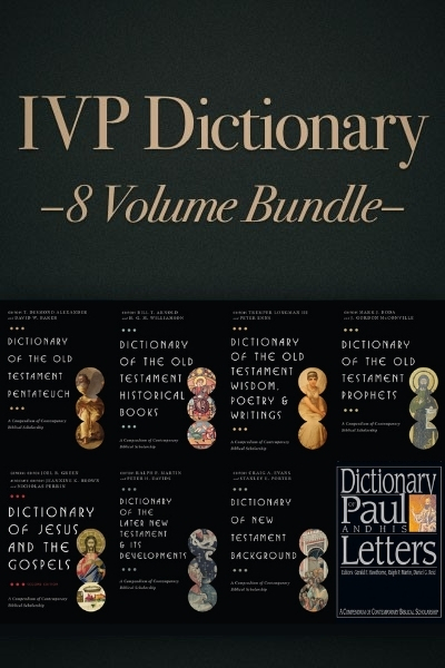 The Ivp Dictionary Series 8 Vols For The Olive Tree Bible App On
