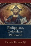 Catholic Commentary on Sacred Scripture: Philippians, Colossians, and Philemon (CCSS)
