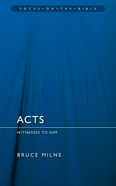 Focus on the Bible: Acts - FB