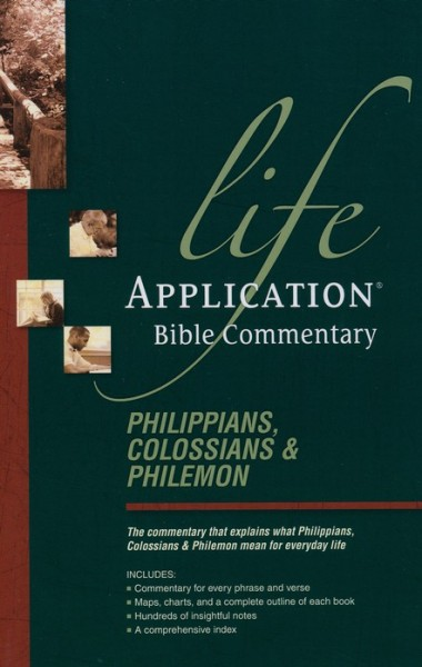 Life Application Bible Commentary (Philippians, Colossians, & Philemon)