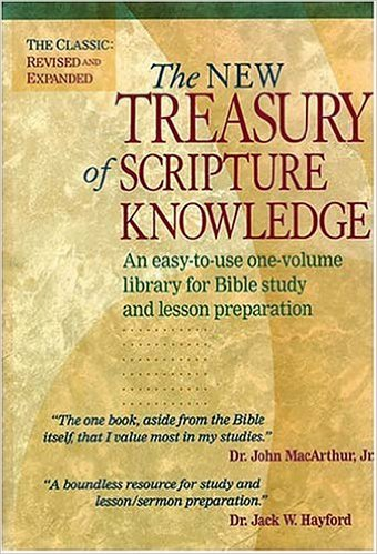 New Treasury of Scripture Knowledge