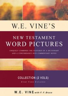 Vine's New Testament Word Pictures (2 Vols.)