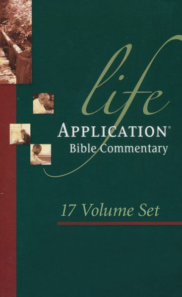 Life Application Bible Commentary New Testament Set (17 Vols.)