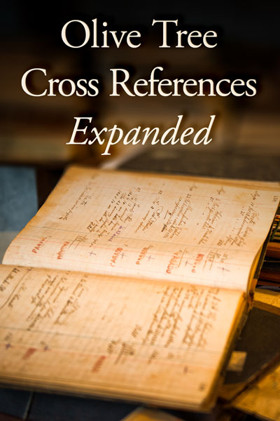 Olive Tree Cross References: Expanded Set for the Olive Tree