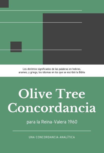Olive Tree Concordancia Analítica de la Reina-Valera 1960