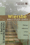 The Wiersbe Bible Study Series: Minor Prophets Vol. 3: Making a Difference in Your Lifetime
