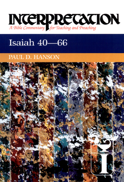 Interpretation: Isaiah 40-66 (INT)