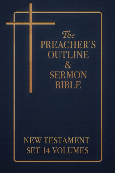 Preacher's Outline & Sermon Bible New Testament Set (14 Vols.)