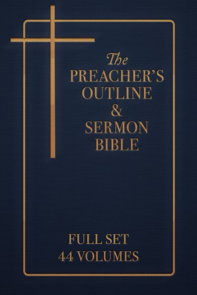 Preacher's Outline & Sermon Bible Old and New Testament Commentary Set (44 Vols.)