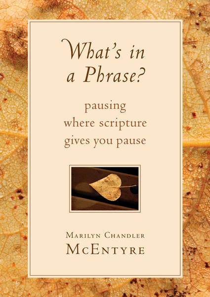 What's in a Phrase? Pausing Where Scripture Gives You Pause