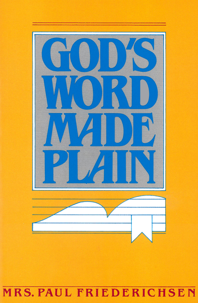 God's Word Made Plain