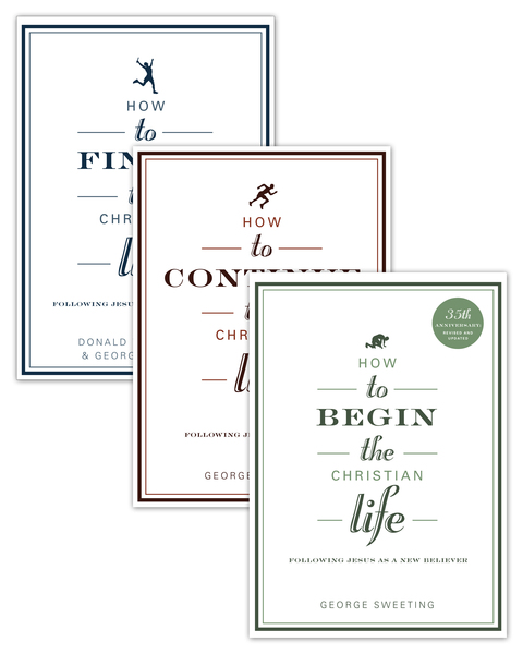 The Christian Life set of 3 books