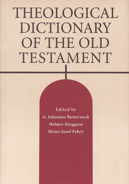 Theological Dictionary of the Old Testament (TDOT-15 vol. set)
