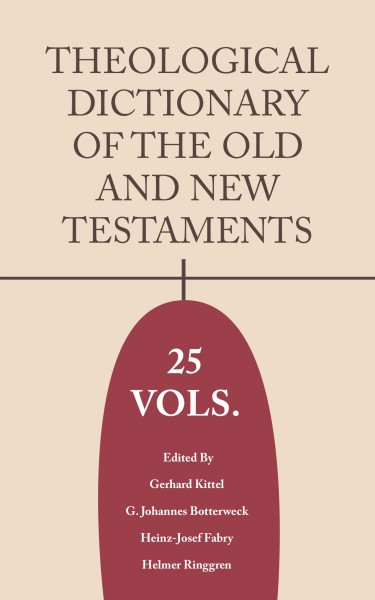 Theological Dictionary of the Old and New Testament (TDOT & TDNT 25 Vols.)