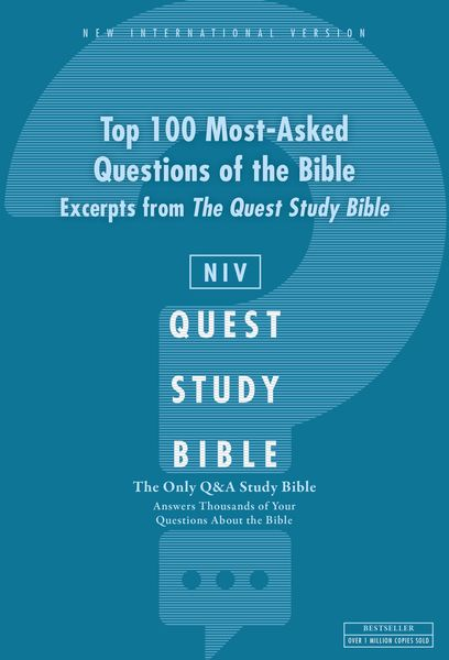NIV, Top 100 Q and   A of the Bible: A Zondervan Bible Extract, eBook
