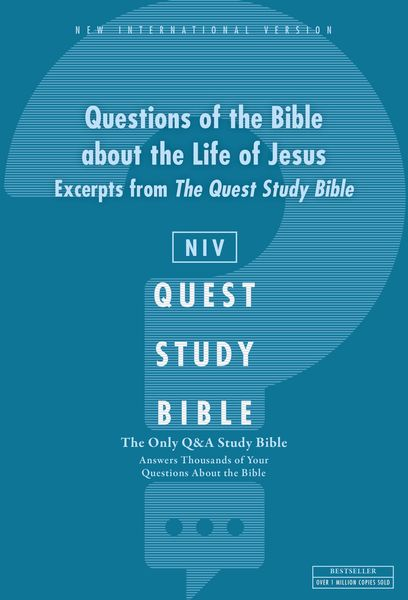 Q and   A on the Life of Jesus: A Zondervan Bible Extract, eBook