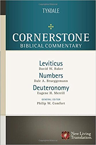 Leviticus, Numbers, Deuteronomy: Cornerstone Biblical Commentary