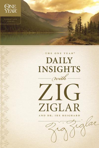 One Year Daily Insights With Zig Ziglar By Zig Ziglar border=