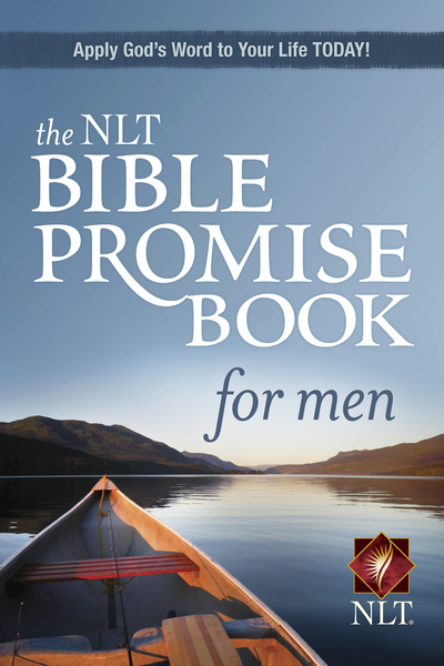 NLT Bible Promise Book for Men