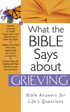What The Bible Says About Grieving