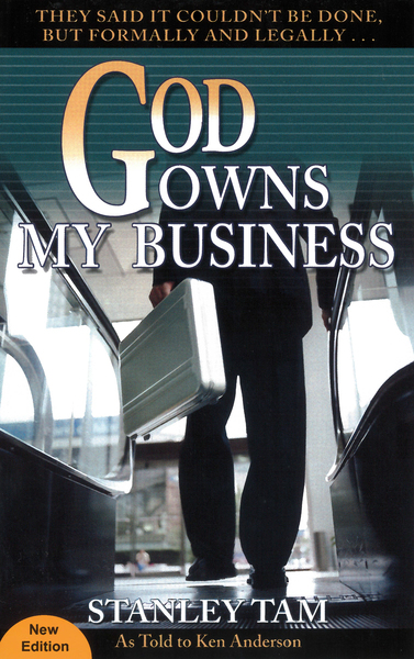 God Owns My Business They Said It Couldn't Be Done, But Formally and Legally...