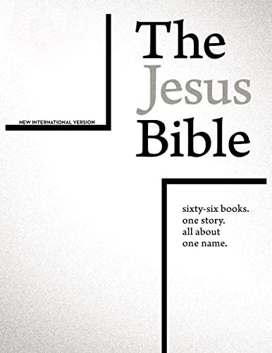 Jesus Bible, NIV Edition
