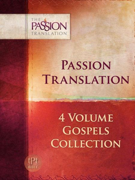 Passion Translation Gospels Set (4 Vols.)