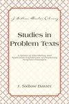 Studies In Problem Texts
