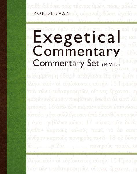 Zondervan Exegetical Commentary Series (ZEC) 14 Vols.
