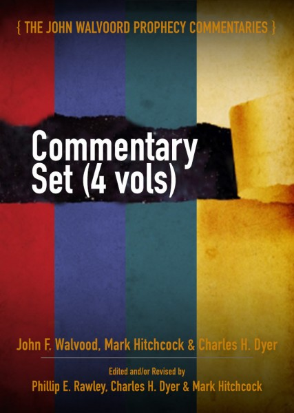 Walvoord Prophecy Commentary Set (4 Vols.)