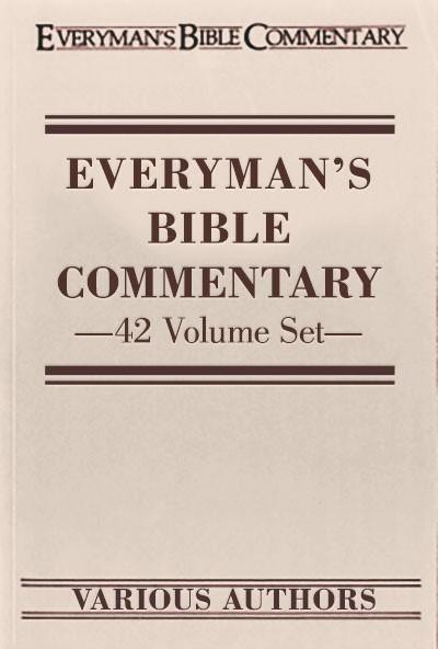 Everyman's Bible Commentary (EvBC) 42 Vols.