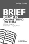 Brief Insights on Mastering the Bible