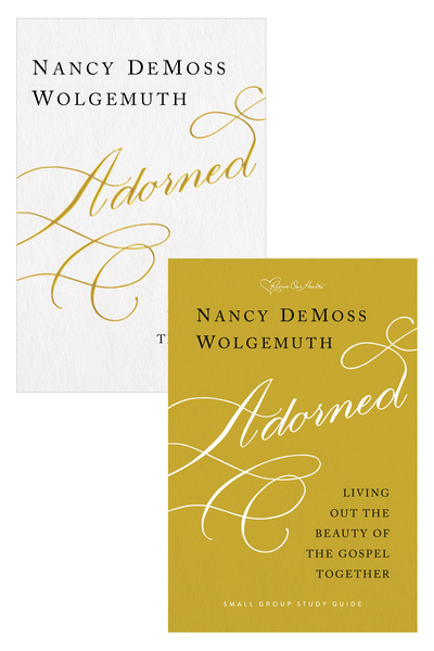 Adorned Book and Study Guide Set