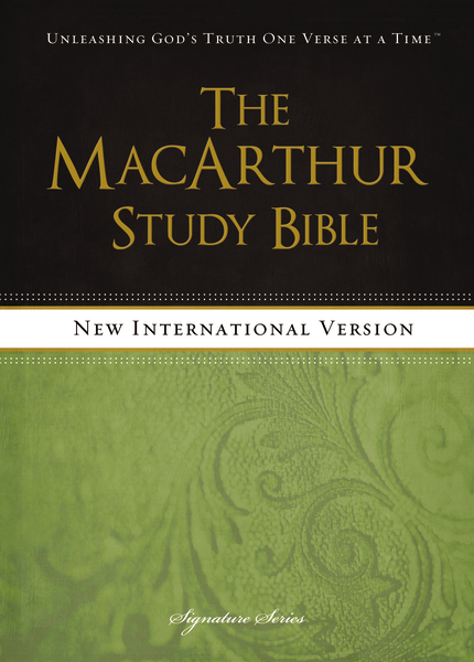 MacArthur Study Bible with NIV