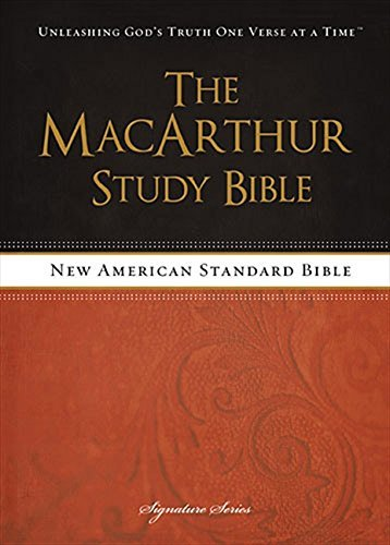 MacArthur Study Bible with NASB